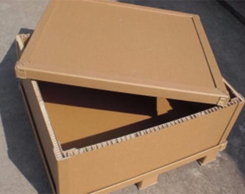 竖瓦楞蜂窝纸箱